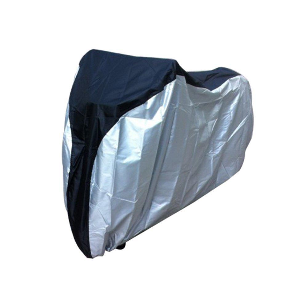 GenialES® Cubierta para Bici 26 Pulgadas Funda Impermeable Anti UV Protectora de Bicicleta Poliéster L 190*65*98cm