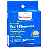 Medicated Wart Remover Patches - 3PC