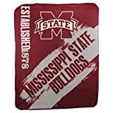 The Northwest Company NCAA Collegiate School Logo Fleece Blanket (Mississippi State Bulldogs)