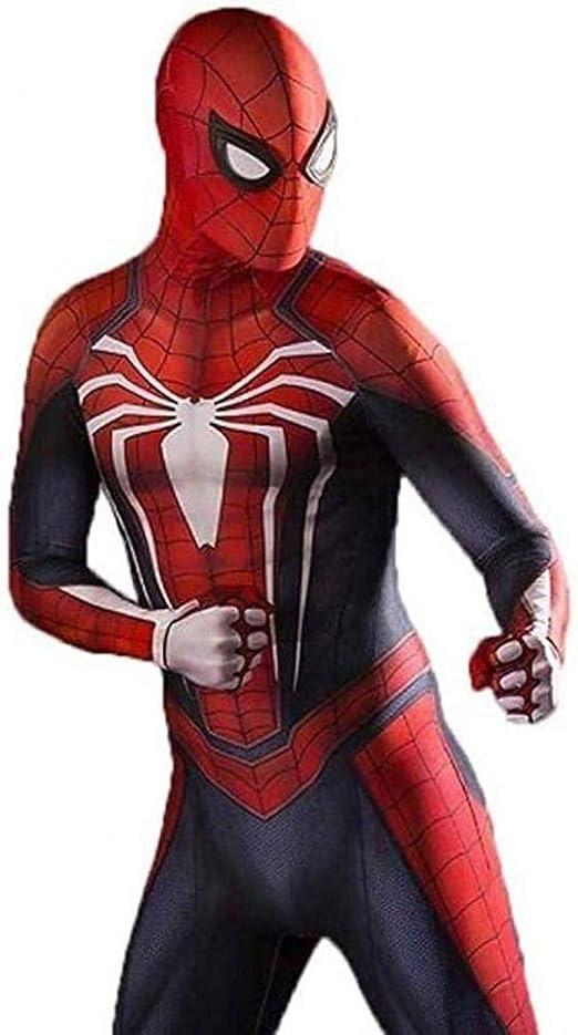 YIWANGO Disfraz De Cosplay De Spiderman Súper Elegante Medias ...