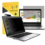 "VIUAUAX Laptop Privacy Screen 14"" – Information Protection Privacy Filter for Laptop – Anti-Glare, Anti-Scratch, Blocks 96% UV – Matte or Gloss Finish Privacy Screen Protector – 16:9"