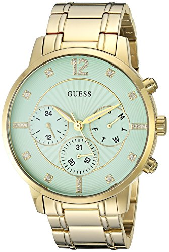 GUESS Women's Quartz Stainless Steel Casual Watch, Color:Gold-Toned (Model: U0941L6)