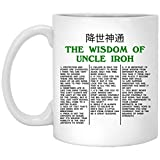 The Wisdom Of Uncle Iroh The Last Ceramic Coffee Mug - Travel Mug - Beer Stein - Stainless Water Bottle Airbender