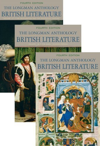 Longman Anthology of British Literature, Volumes 1A, 1B, and 1C [4th Edition] by Damrosch, David, Dettmar, Kevin J. H., Baswell, Christopher, [Longman,2009] [Paperback] 4TH EDITION