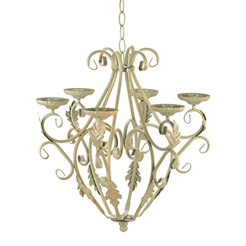 Decorative Candle Chandelier, Royalty Iron Hanging Chandeliers Candle Holders by Gallery of Light