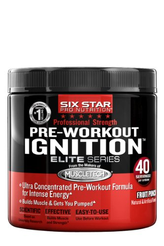 Six Star Pro Nutrition Elite Series Pre-Workout allumeur £ 0,53 Fruit Punch US, pré-entraînement poudre