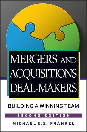 Pdf download mergers and acquisitions deal makers building a mergers and acquisitions deal makers building a winning team pdf tagsdownload best book mergers and acquisitions deal makers building a winning team fandeluxe Gallery