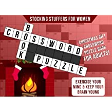 Stocking Stuffers for Women: Christmas Gift: Crossword Puzzle Books for Adults: Exercise Your Mind & Keep Your Brain Young