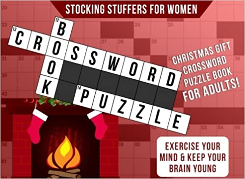Stocking Stuffers for Women: Christmas Gift: Crossword Puzzle Books ...