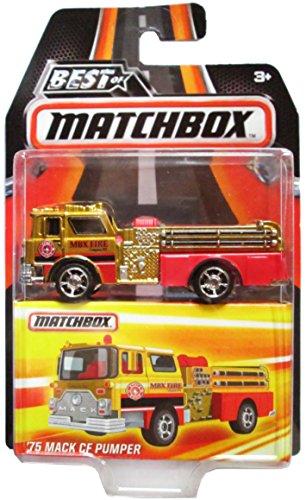 Best of Matchbox - '75 Mack CF Pumper Fire Truck - Series 1