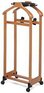 Foppapedretti IlMettinsieme- Double Clothes Valet Stand - Walnut