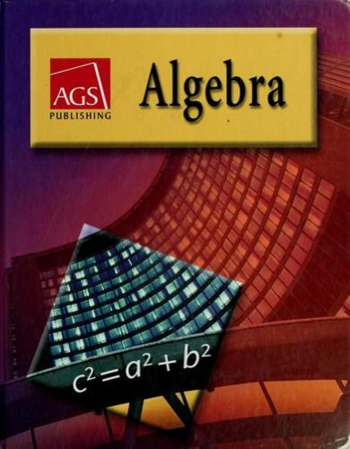 ALGEBRA WORKBOOK ANSWER KEY