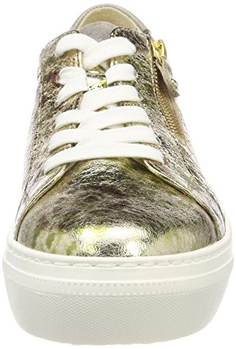 Gabor Shoes Women Casual Derbys Green (Oliv/Platino/Bronc) new styles online 2015 cheap price fashionable cheap price cheap shop bYQee1xC