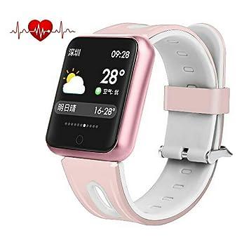 elecfan Bluetooth Smartwatch, Pulsera Monitor de Actividad ...