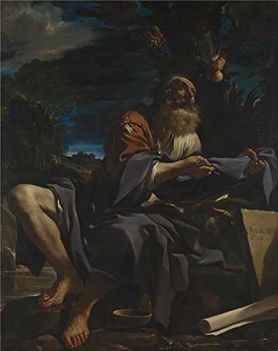 The Perfect Effect Canvas Of Oil Painting 'Guercino Elijah Fed By Ravens ' ,size: 24 X 30 Inch / 61 X 77 Cm ,this High Resolution Art Decorative Canvas Prints Is Fit For Bar Decoration And Home Decor And Gifts