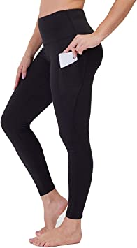 Gayhay High Waist Yoga Pants with Pockets for Women - Tummy Control Workout Running 4 Way Stretch Yoga Leggings