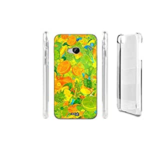 FUNDA CARCASA ARANCIA FRUTTI PARA HTC ONE M9