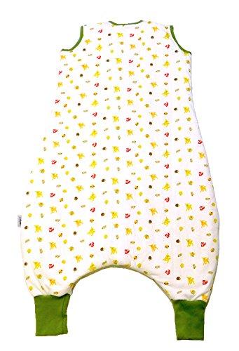 Saco de dormir con patas 1.0 Tog – Animales del bosque – Disponible en 5 tamaños diferentes Talla:18-24 meses: Amazon.es: Bebé