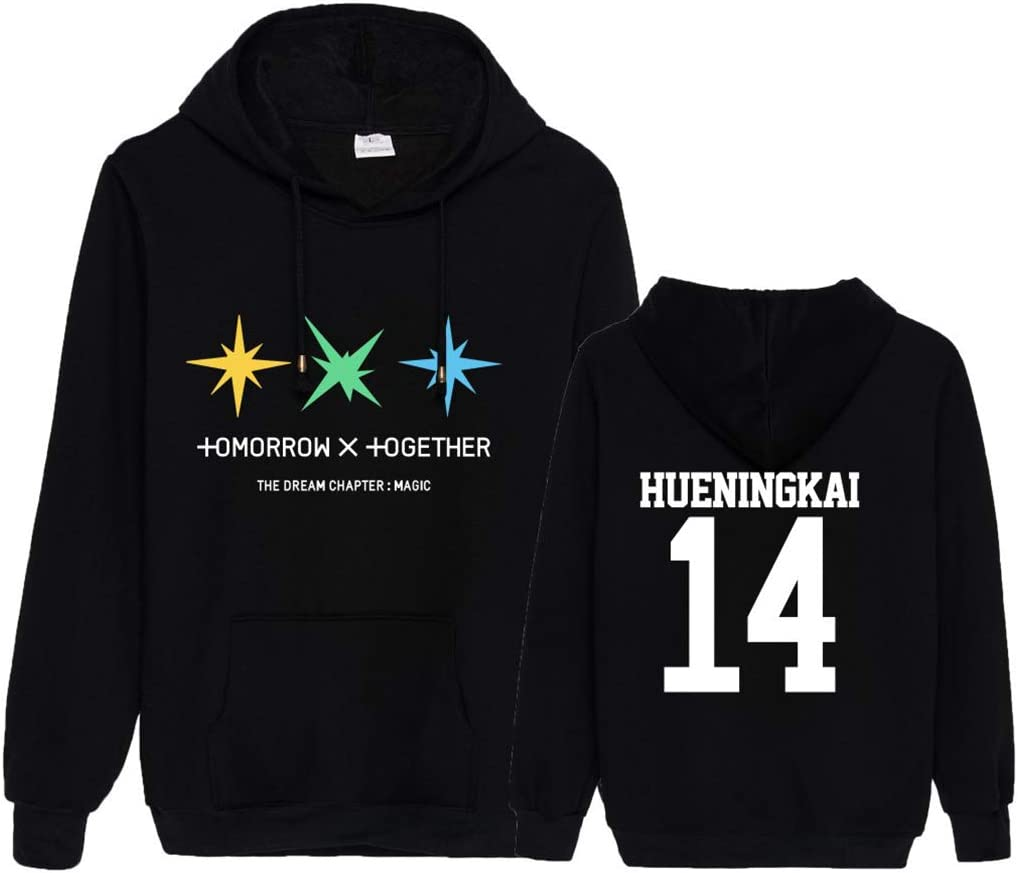 ACEFAST INC Kpop TXT Hoodie Magic Sweatshirt Soobin Taehyun Hueningkai Beomgyu Yeonjun Pullover Sweater Tops