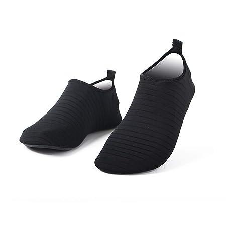 HS-MANWEI Zapatos De Agua Damas Playa De Hombres Secado ...