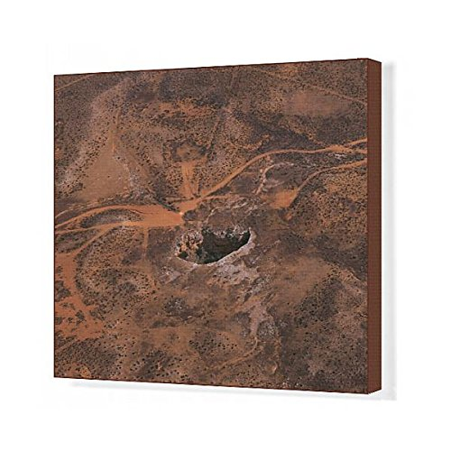 Media Storehouse 20x16 Canvas Print of Entrance to Koonalda Cave (10134963)