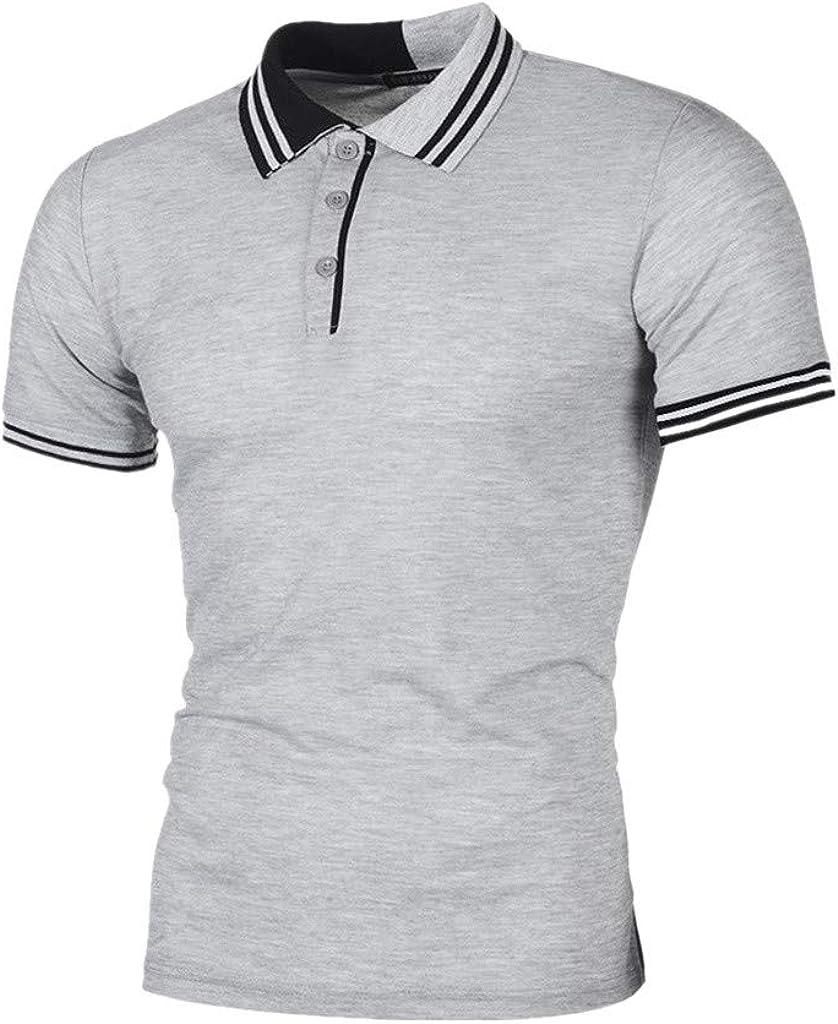AG&T Camiseta de Manga Corta para Hombre de la Marca Gris XL ...