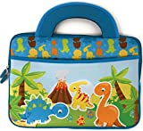 Baby Dinosaur Kids 10 inch Tablet Bag Tote Portable Neoprene Carrying Case Boy Girl Sleeve Cover fit Amazon Fire HD 8 iPad LeapPad Leapfrog Pocket