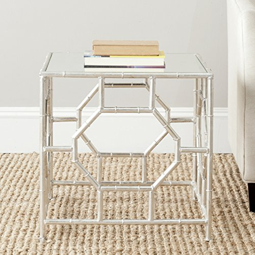 Asian Dcor Gifts (Safavieh Home Collection Rory Silver Accent Table)