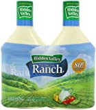 Hidden Valley The Original Ranch Dressing, Homestyle, 2-Count Bottle, 80 fl oz Total