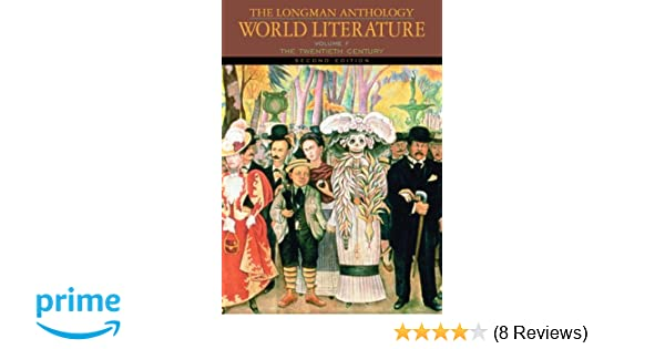 Amazon the longman anthology of world literature volume f the amazon the longman anthology of world literature volume f the twentieth century 2nd edition damrosch world 9780205625949 david damrosch fandeluxe Choice Image
