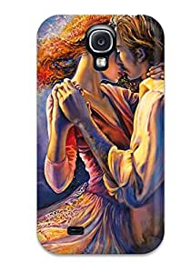 High Impact Dirt/shock Proof Case Cover For Galaxy S4 (oil Paintings )