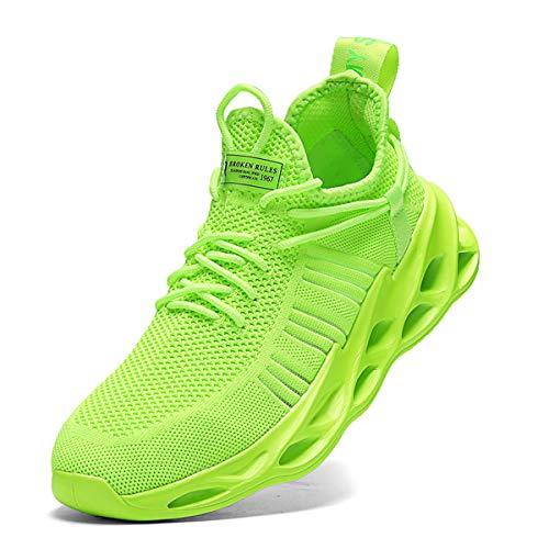 Nihaoya Men Athletic Walking Running Tennis Shoes Fashion Sneakers