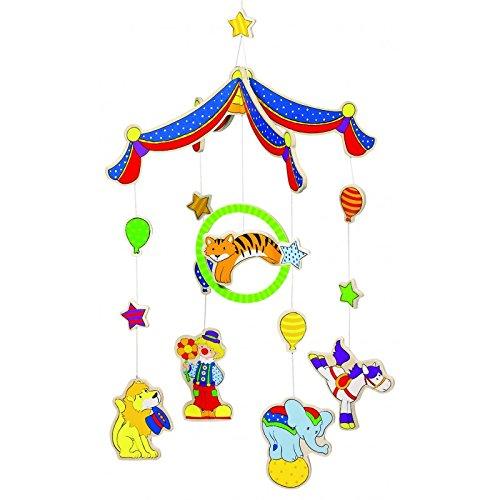 Goki Mobile Colorful Circus Hanging Toy