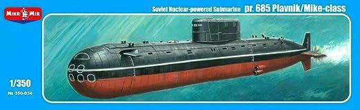 Mikro Mir 350-019 Ukrainian Submarine Projeсt 641 1//350 scale