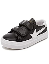 Alexis Leroy Kid's Classic Velcro Slip on Low up canvas shoes