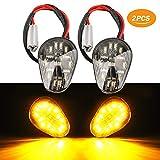 2 PCS Amber LED Turn Signal Indicator Light Lamp