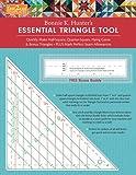 quilting essentials - fast2cut Bonnie K. Hunter's Essential Triangle Tool: Quickly Make Half-Square, Quarter-Square, Flying Geese & Bonus Triangles - Plus Mark Perfect Seam ... - FREE Bonus Buddy Ruler (Fast2cut Templates)
