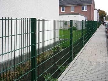 Cool Zaun 25m Komplett-Angebot 1230mm Höhe RAL6005/grün  OE67