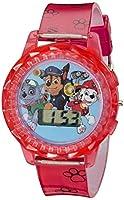Nickelodeon Kids' PAW4006 Paw Patrol Digital Display Quartz Red Watch