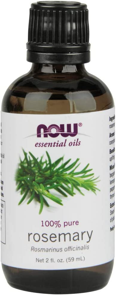 NOW Essential Oils, Rosemary Oil, 2-Ounce