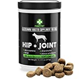 Cheap PointPet Hip and Joint Supplement for Dogs with Glucosamine, MSM, Chondroitin, Omega 3, 6, Vitamin E, Improves Mobility and Hip Dysplasia, Arthritis Pain Relief, 90 Soft Chews