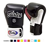 Fairtex Muay Thai Boxing Gloves BGV1 10 12 14 16 oz Black White Red Blue Pink Emerald