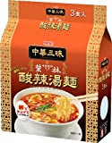 Myojo Chinese Zanmai Akasaka Sakae-rin Hot and sour soup noodles 3P ~ 2 pieces