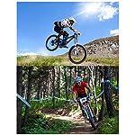 26-Pollici-21-velocit-Adulto-Bicicletta-MTB-Bicicletta-Mountain-Bike-Bicicletta-Biciclette-Doppio-Freno-A-Disco-Acciaio-Alto-Tenore-Carbonio-TelaioWhite-Black