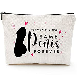 Best Epic Trends 510N%2BPAFtsL._SS300_ Fun Engagement Gifts,Makeup Travel Case,Bridal Shower Gifts for Bride,Fun Bridal Shower Gifts, Bachelorette Party Gifts…