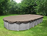 Robelle 601840-4 Superior Winter Cover for Oval Above Ground Swimming Pool, 18 x 40'