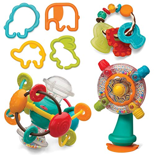 Infantino Fun for Your Little Blessing Shake, Turn, Link & TeeThe Activity Set
