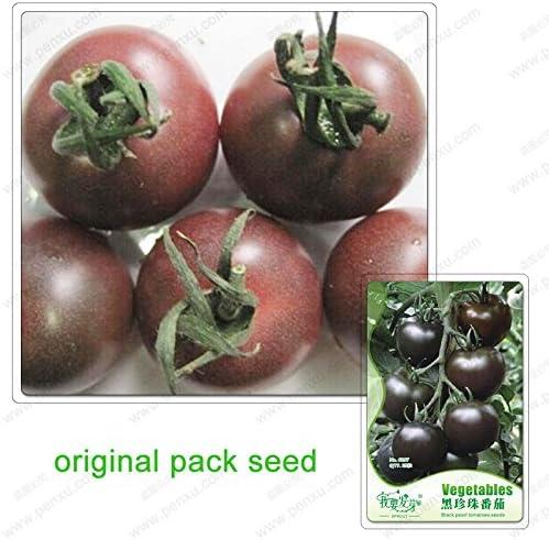 25 semillas / pack, semillas de tomate Negro Perla, Semillas de tomates verduras orgánicas bonsai no transgénico: Amazon.es: Jardín