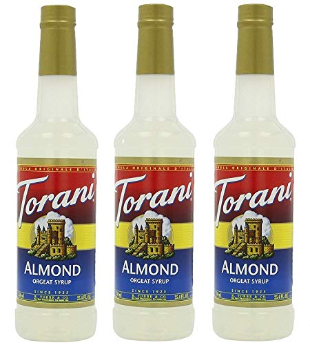 Torani Syrup, Orgeat (Almond), 25.4-Ounce Bottles (Pack of 3) (Best Italian Restaurants In North Beach)