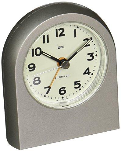 BAI Pick-Me-Up Alarm Clock, Mega Titanium